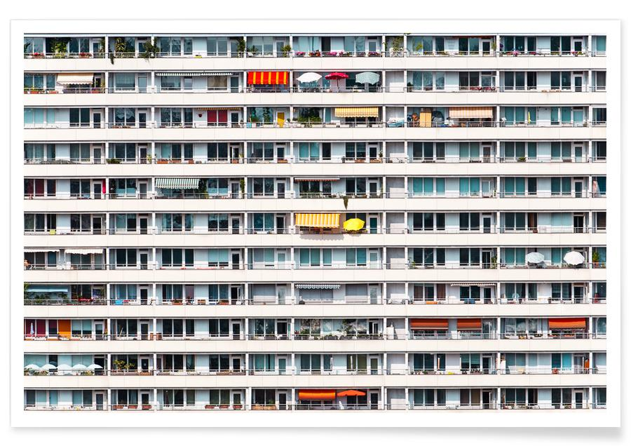 Arkitektoniske detaljer, Apartment Colours Plakat