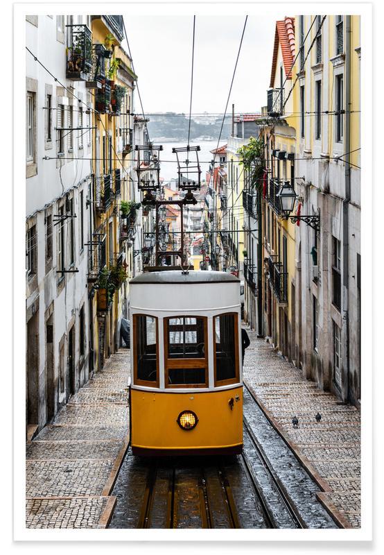 Yellow Tram -Poster