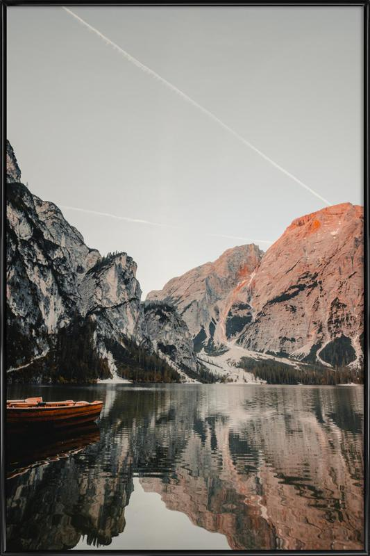 Reflections -Bild mit Kunststoffrahmen