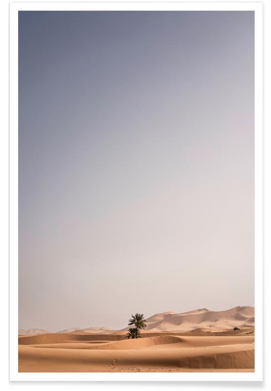 Ørkener, Solnedgange, Desert Skies Plakat