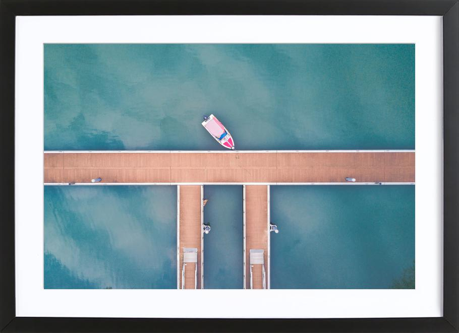 Miniature by @saium Framed Print