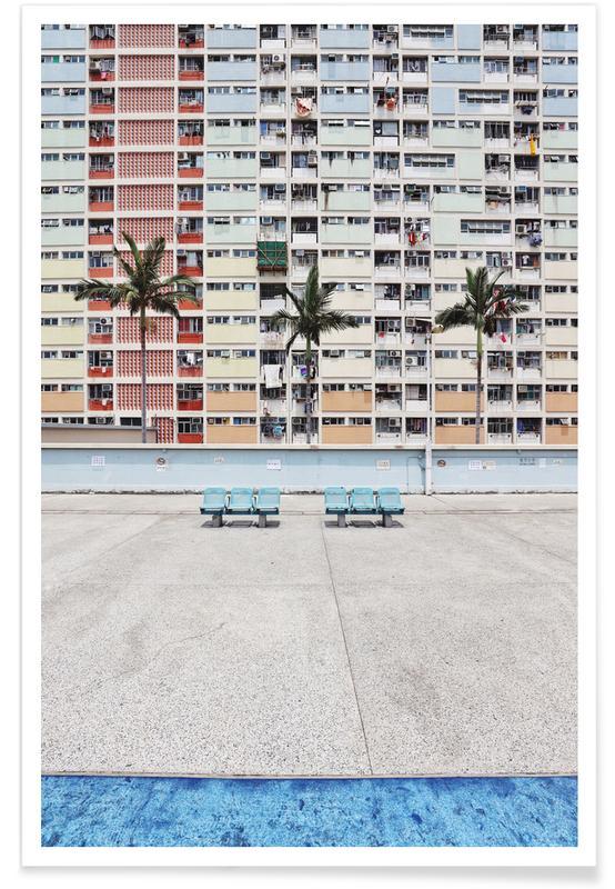 Pastel Boulevard -Poster