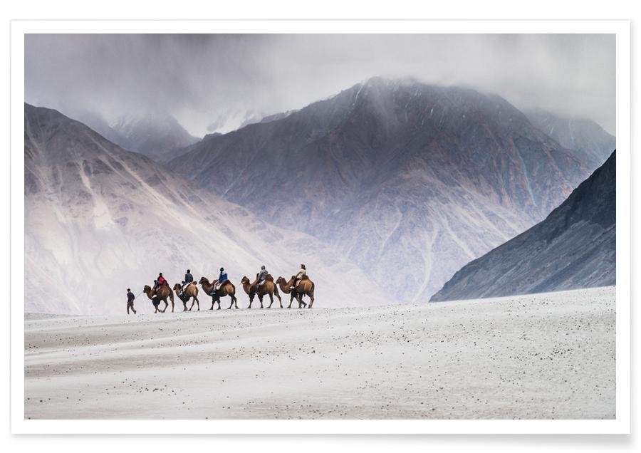 Montañas, The Trek póster