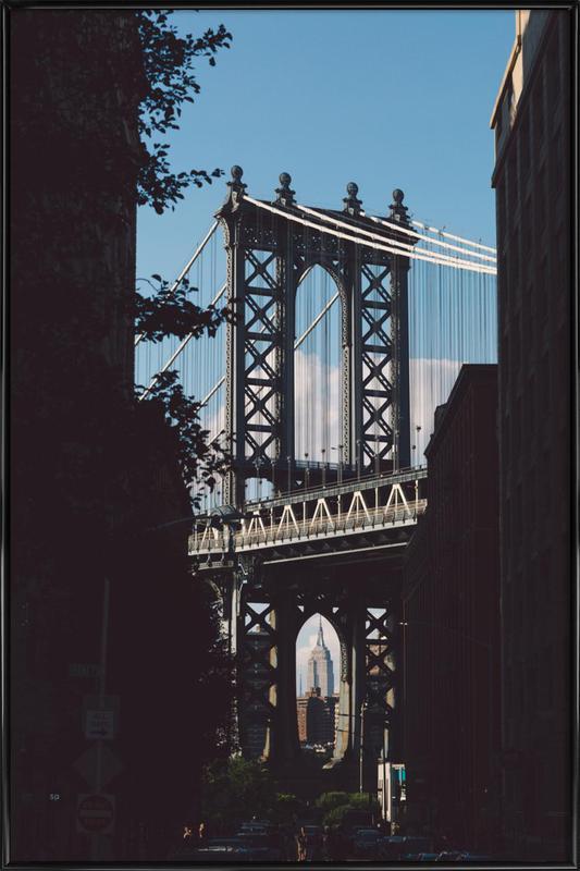 Bridge in Shadow Poster i standardram