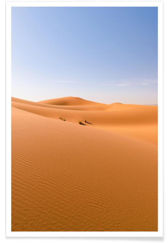 Ørkener, Heat of the Desert Plakat