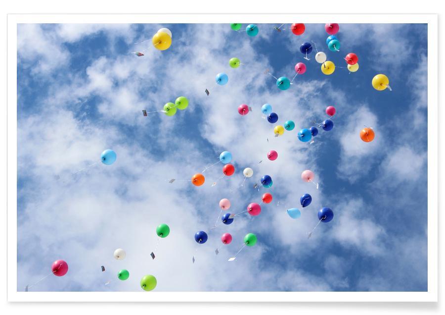 Cielos y nubes, Soñador, Flying póster