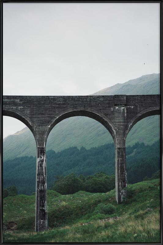 Slate Bridge Poster i standardram