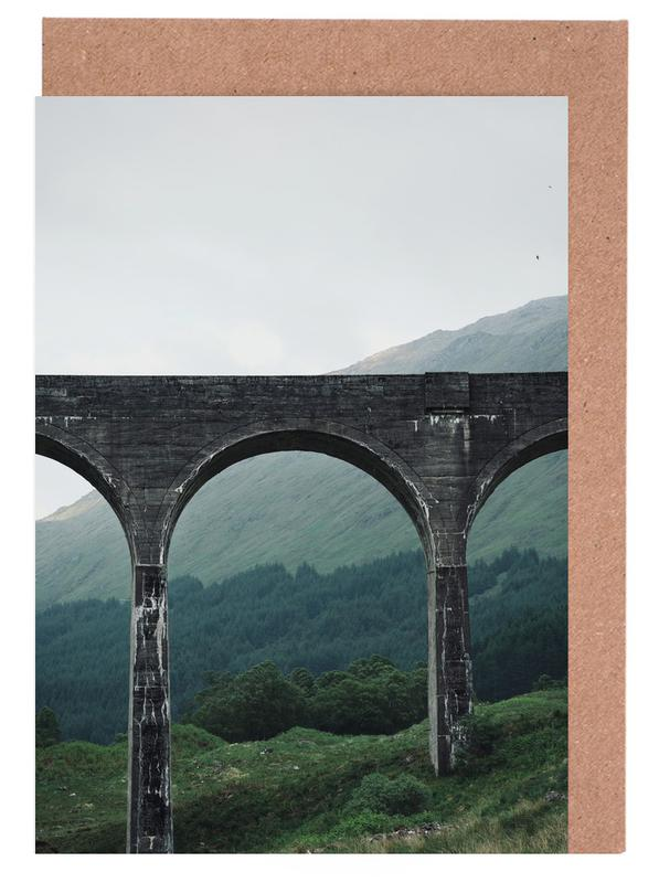 Bridges, Slate Bridge Greeting Card Set