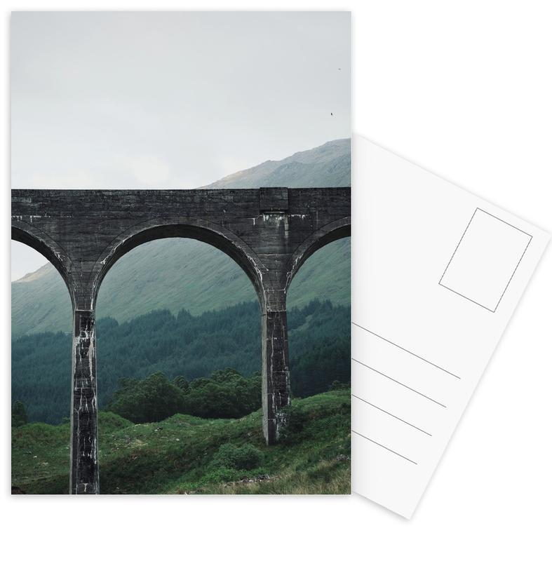 Brücken, Slate Bridge -Postkartenset