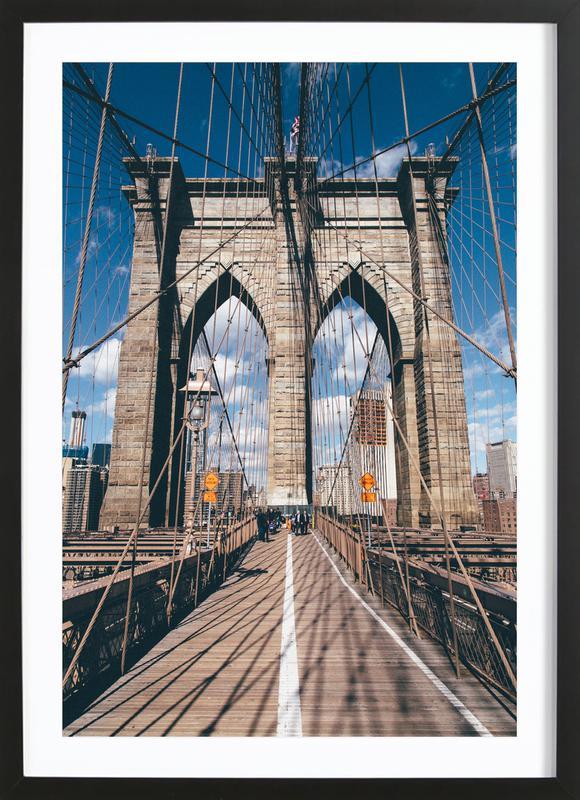 Crossing the Bridge ingelijste print