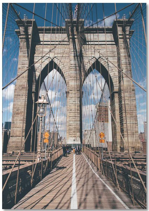 Crossing the Bridge Notebook