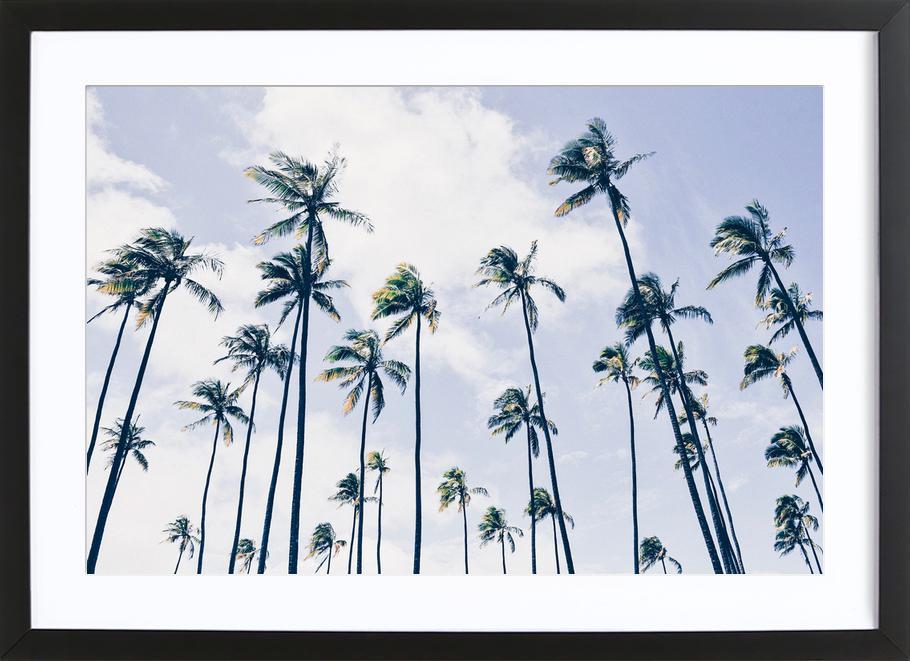 Paradisaic Sky by @WhitneyHolland ingelijste print