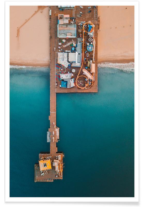 Paradise Pier by @connorjvaughan Plakat