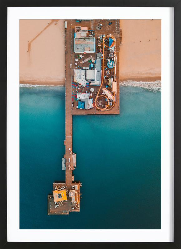 Paradise Pier by @connorjvaughan Framed Print