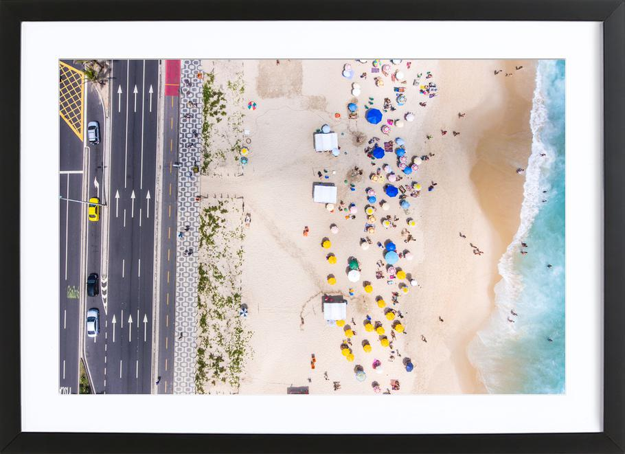 Rio by @andremohallem Framed Print