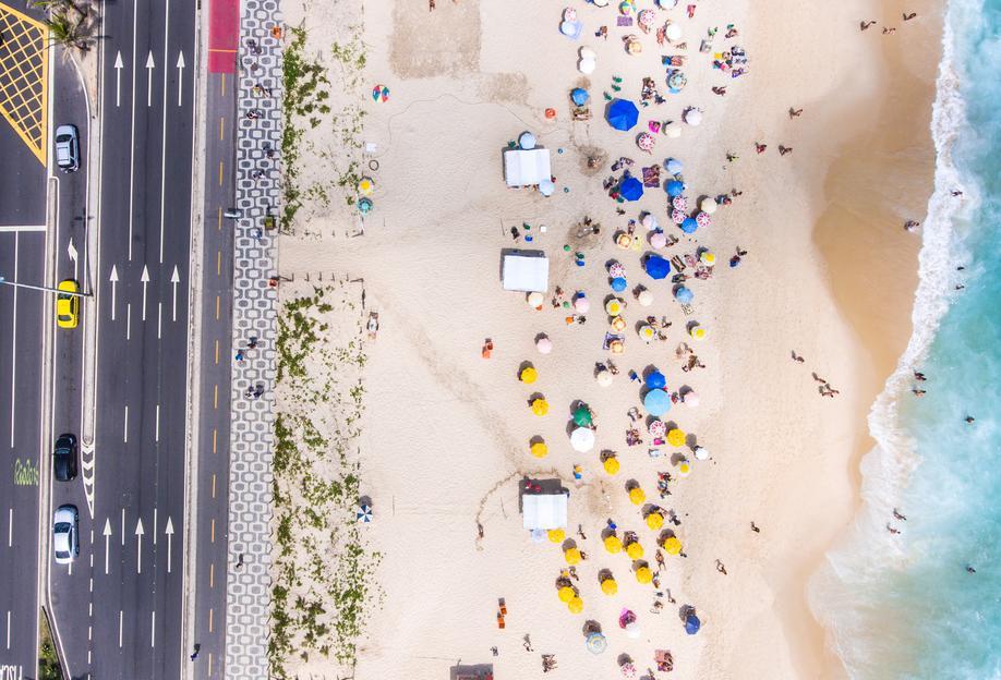 Rio by @andremohallem -Acrylglasbild