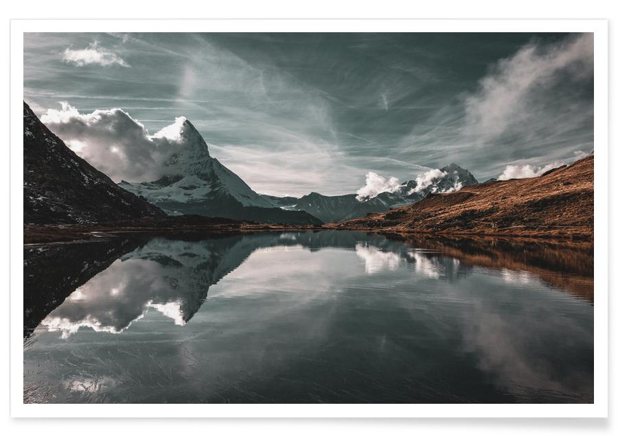 Montagnes, Frozen In Motion @BernhardKlar affiche
