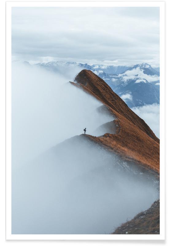 Mountains, Keep Moving Forwards @ClaudiuMaxim Poster