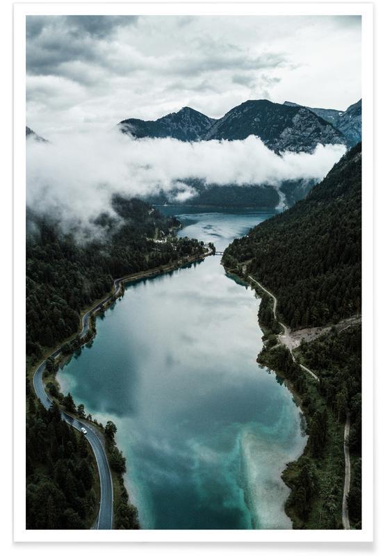 Océans, mers & lacs, Nordic Chill @Szabo Ervin-Edward affiche