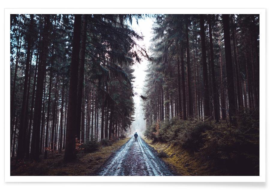 Bossen, Smell The Cedar @JohannesHulsch poster