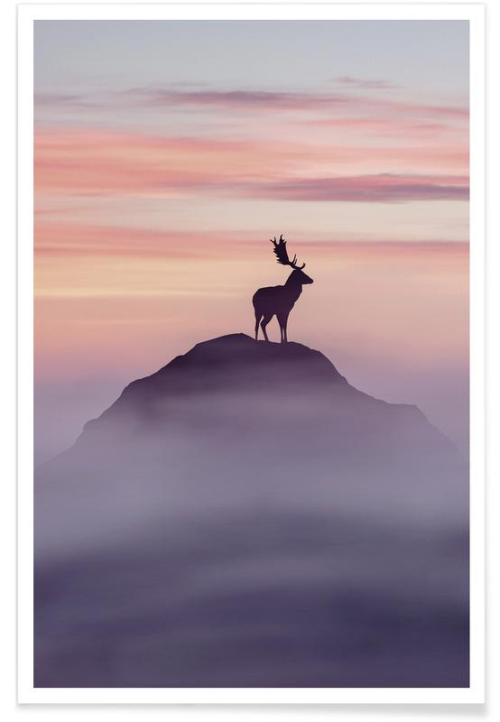 Hirsche, Fortitude @Furstset -Poster