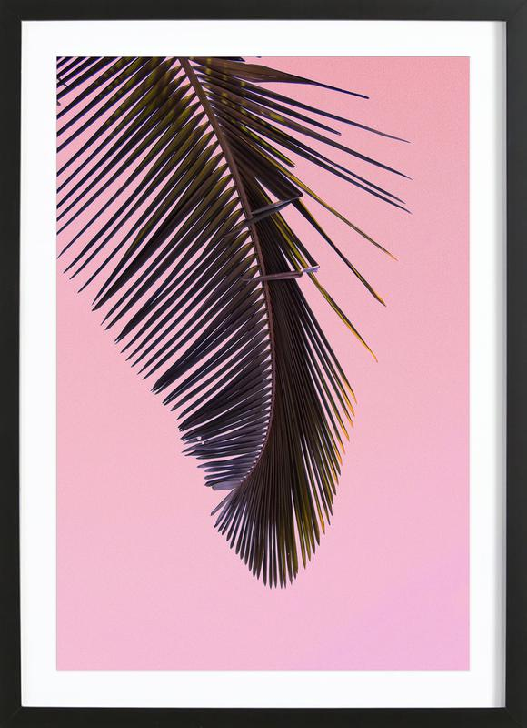 Tropicana Pink by @BineArnold Poster i träram
