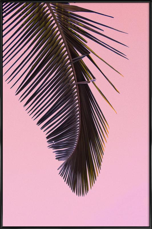 Tropicana Pink by @BineArnold Framed Poster