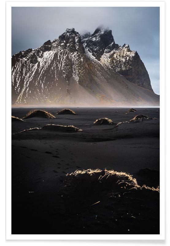 Mountains, Black Dunes @FlorianKöhler Poster