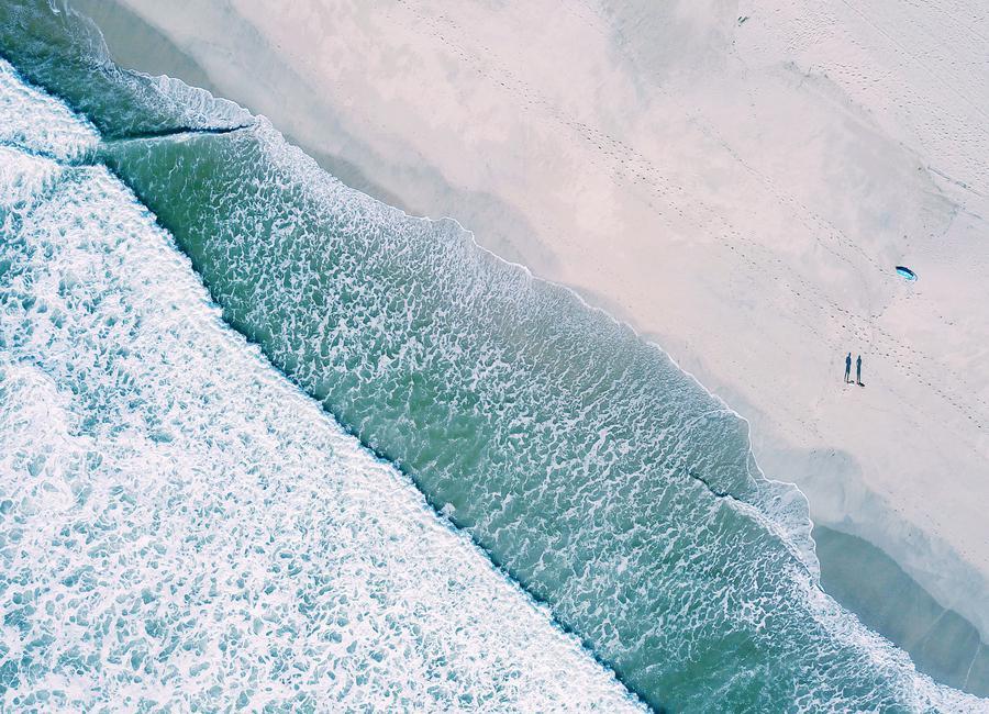 Dudes Surfing by @bavariansnaps Canvastavla