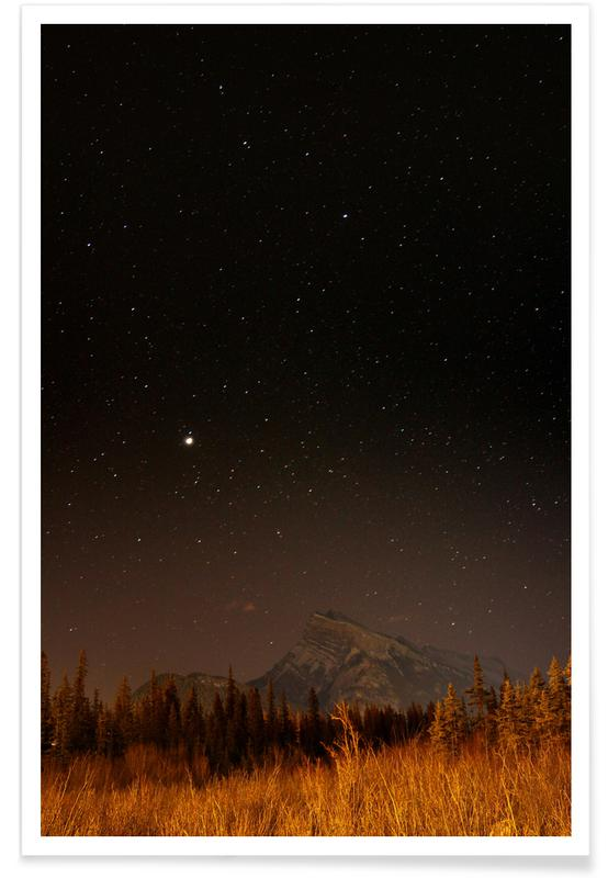 Mountains, Starstruck @natureman45 Poster