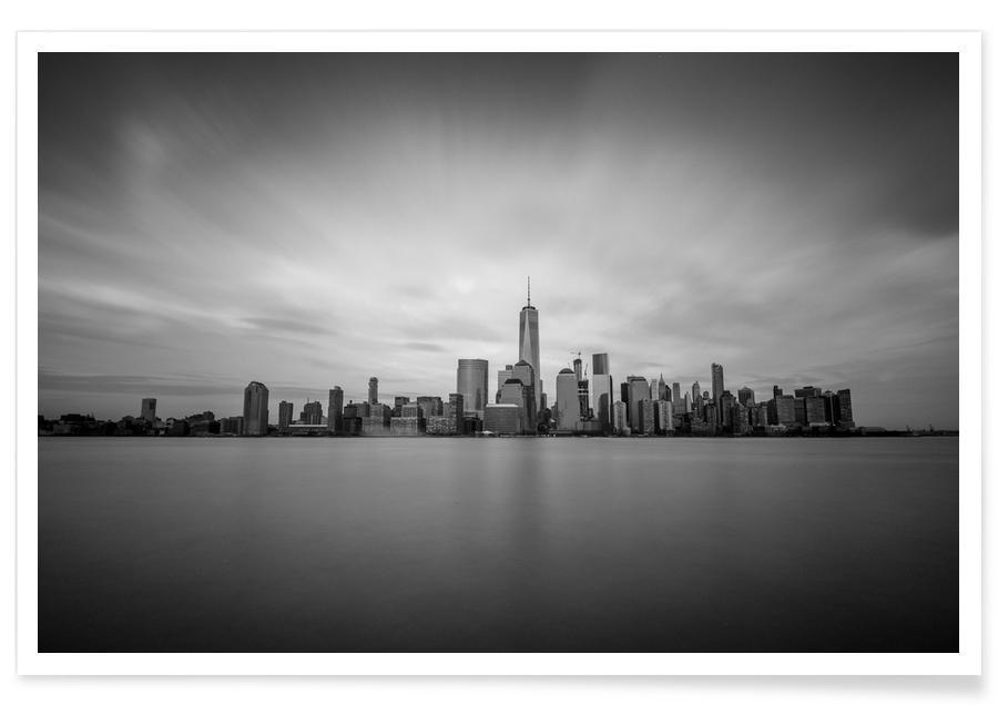 Skylines, Manhattan Mood @juliaglasener1 affiche