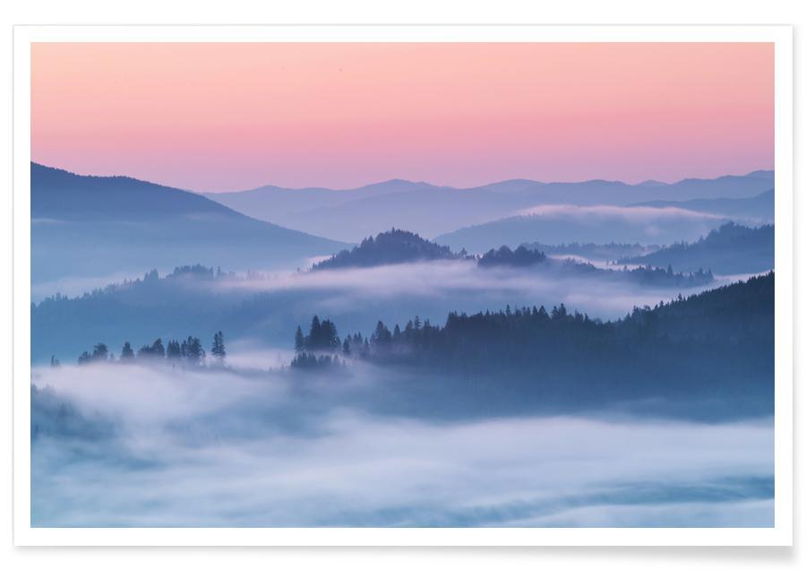 Mountains, Distant Lands @alexionutcoman Poster