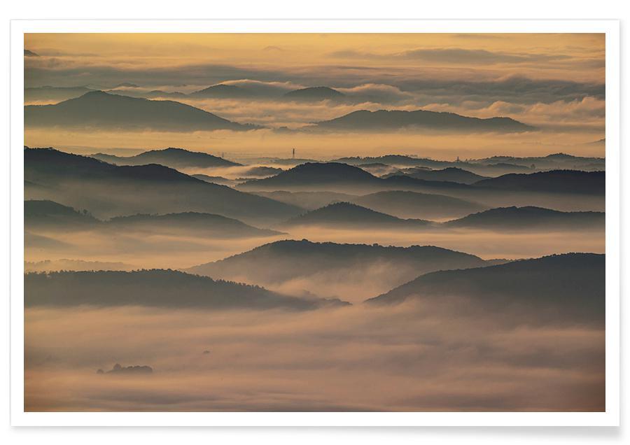 Montagnes, Shadowlands @2ssuny affiche
