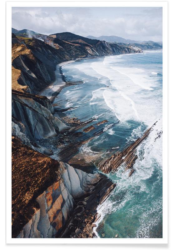 Stranden, Edge of the Earth @bokehm0n poster