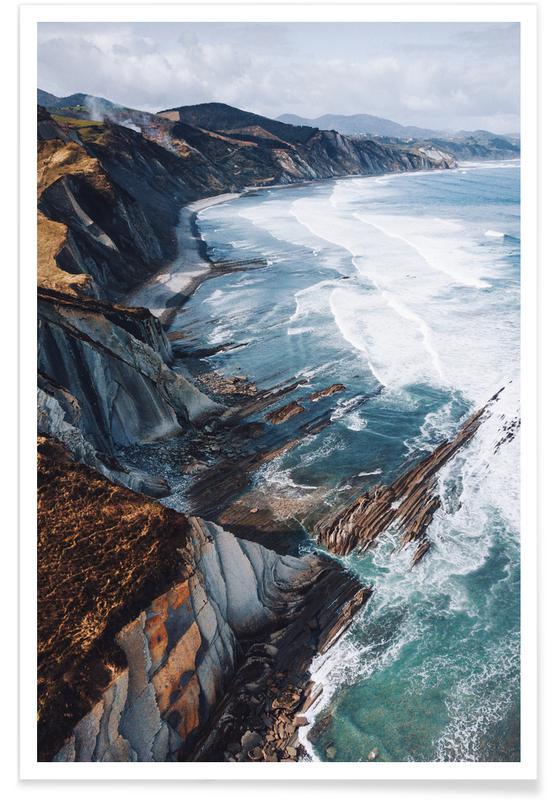 Beaches, Edge of the Earth @bokehm0n Poster