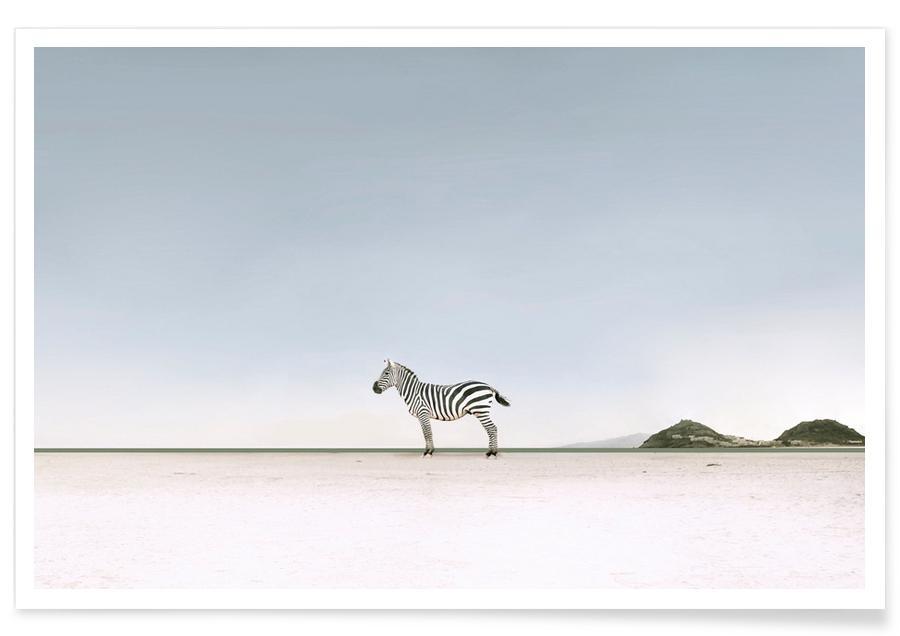 Safari dyr, Lost in the Landscape by @ledart Plakat