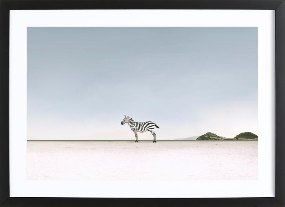 Lost in the Landscape by @ledart Poster i träram