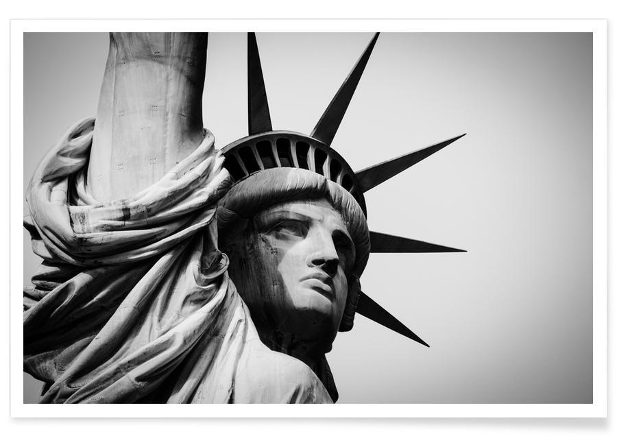 Schwarz & Weiß, Liberté @Siliman -Poster