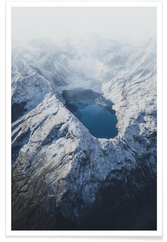 Mountains, Eye of the Mountain @adventuring Poster