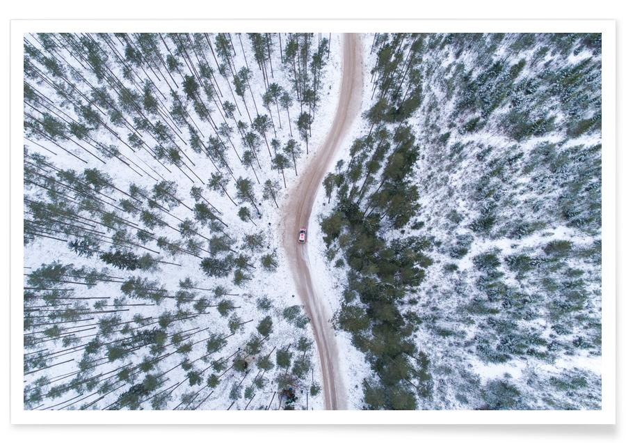Forests, Driving Home for Christmas @JanarKallas Poster