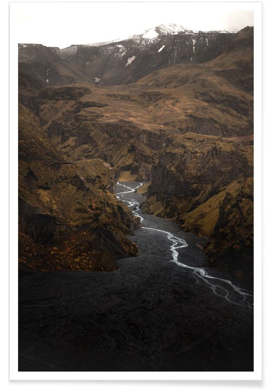 Bezienswaardigheden en monumenten, How The Mighty Fall by @icelandic_explorer poster