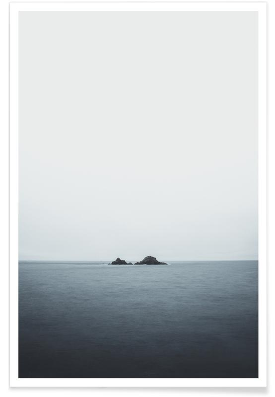 Ocean, Lake & Seascape, A New Discovery by @nilsleithold Poster