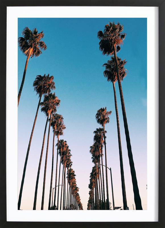 Wanna Be in LA by @samfn Plakat i træramme
