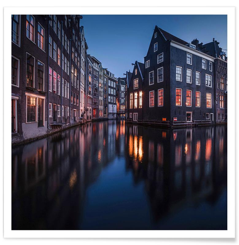 , Still Canals & Bright Windows by @osnkyli affiche