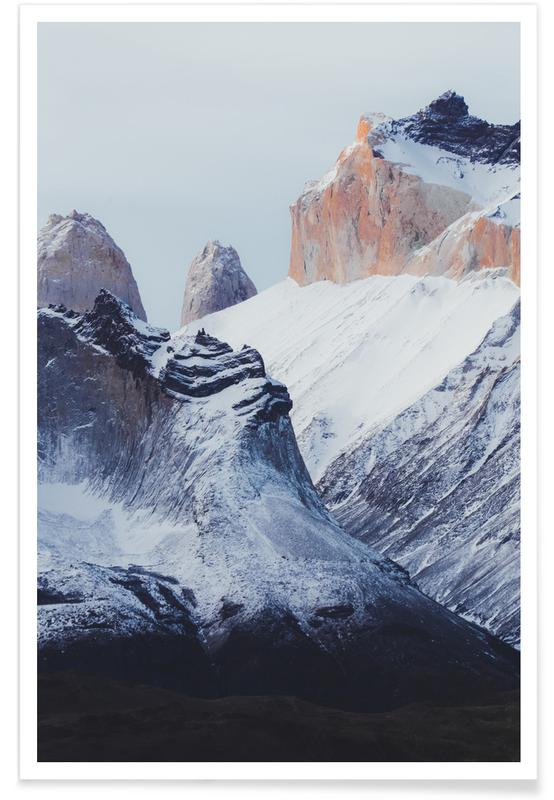Montagnes, Monuments et vues, Pristine by @KevinZaouali affiche