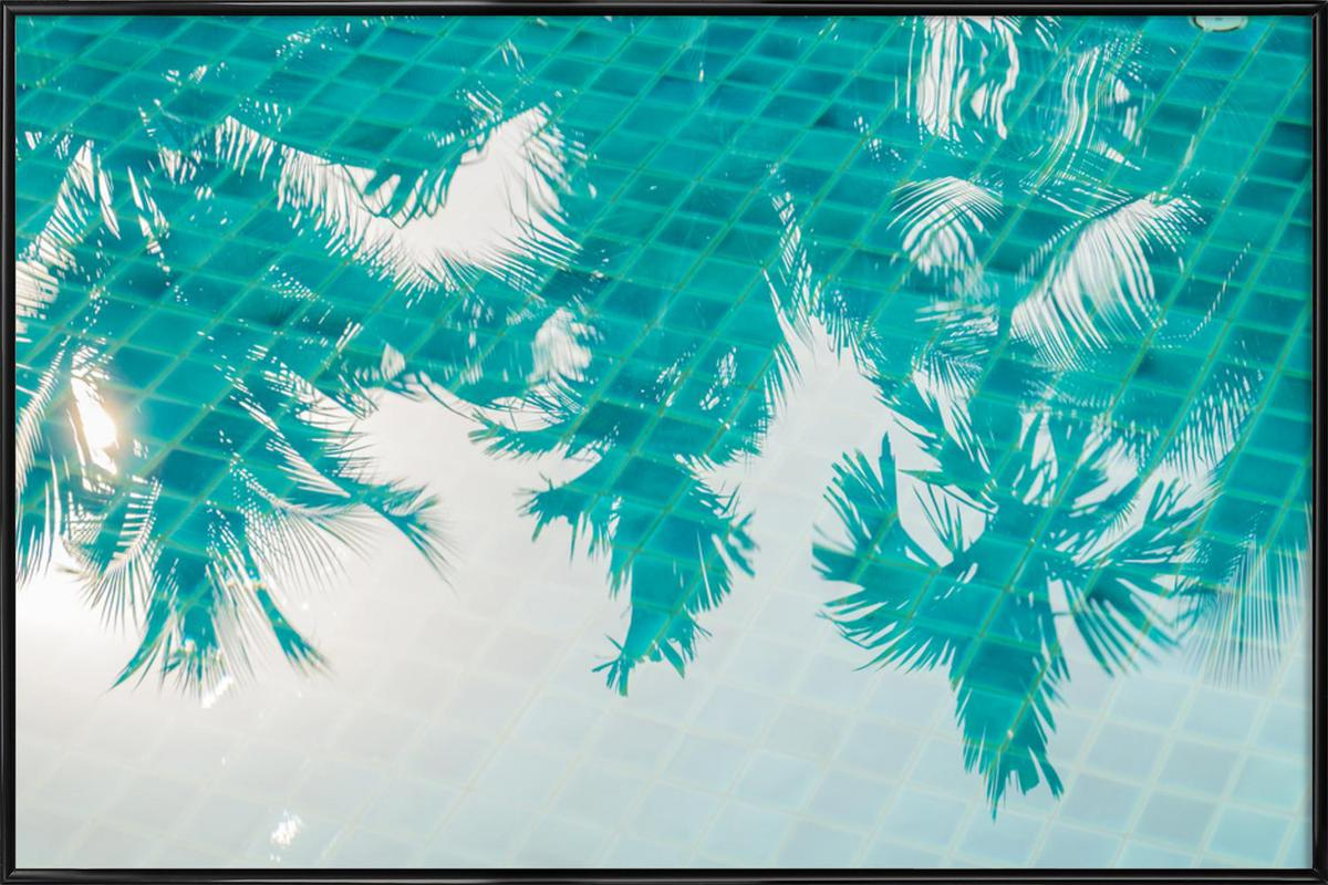 Miami Reflections by @Khoopatiphatnukoon Framed Poster