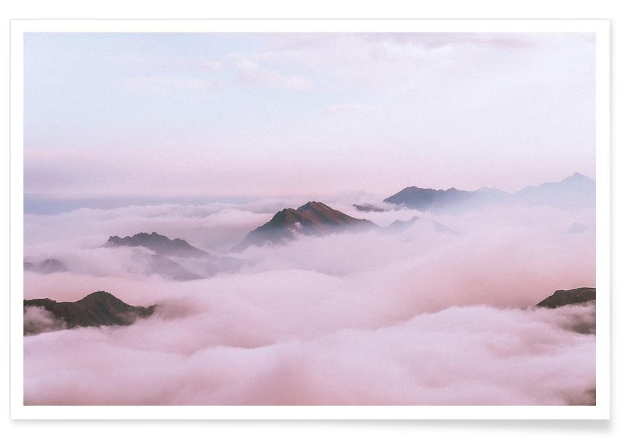 Bergen, Lucht en wolken, Highest Peaks by @KevinZaouali poster