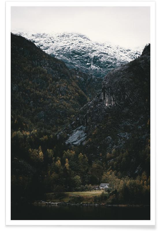 Bergen, Bezienswaardigheden en monumenten, In A Land Far, Far Away by @nilsleithold poster