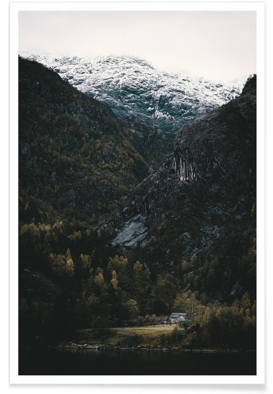 Montagnes, Monuments et vues, In A Land Far, Far Away by @nilsleithold affiche