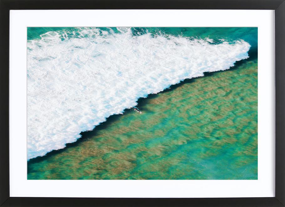 Strayan Beach by @armanimaad Framed Print
